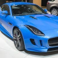 Jaguar F-Type S coupe sports car